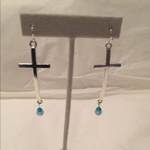 Jewelry - Beautiful Cross Earrings